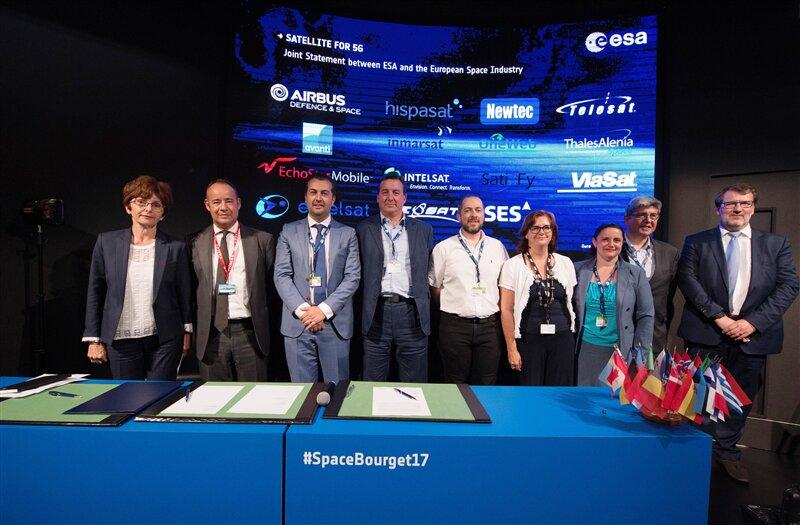 ESA Satellite 5G