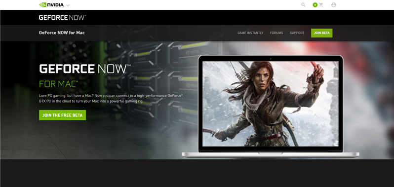 GeForce Now Mac