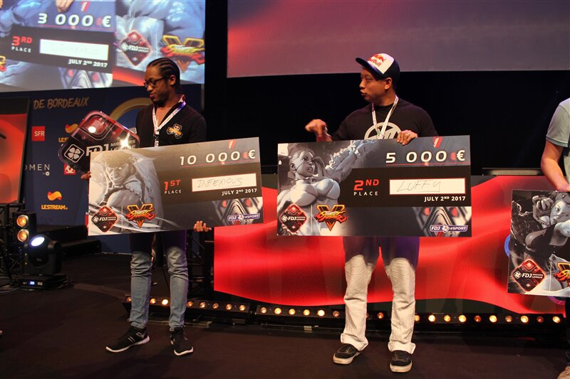 ESWC Bordeaux E-sport Luffy Infexious FDJ