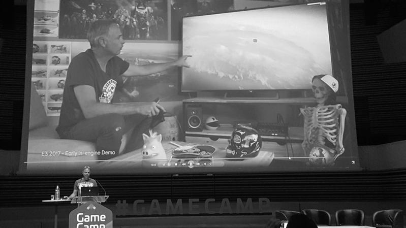 Gamecamp SNJV - Michel Ancel