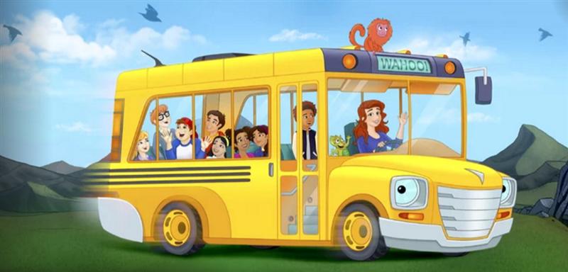 Bus magique Netflix