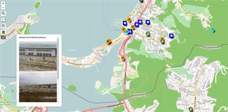VISOV Irma OpenStreetMaps