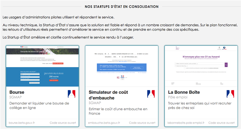 start-ups d'état