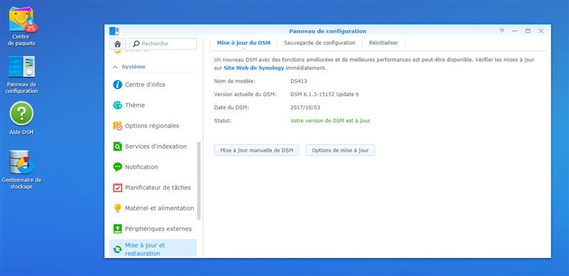 DSM 6.1 installer firmware