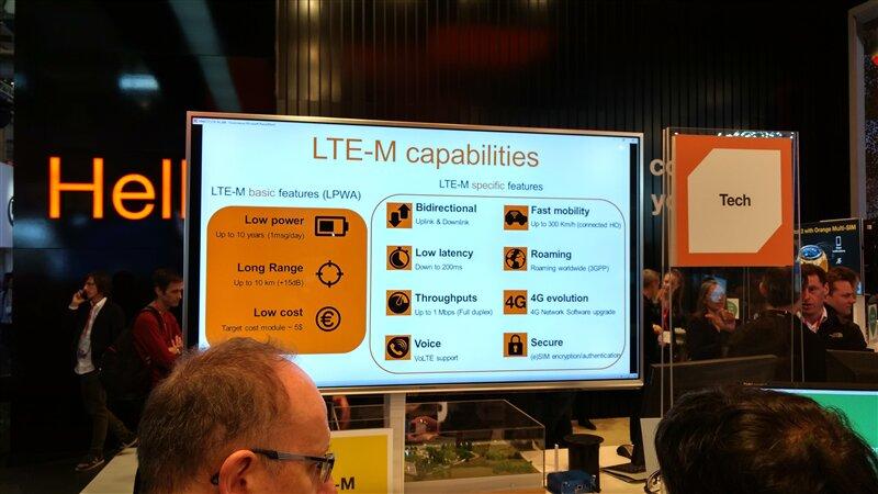 Orange LTE-M MWC