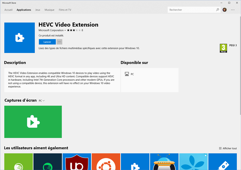 windows 10 hevc