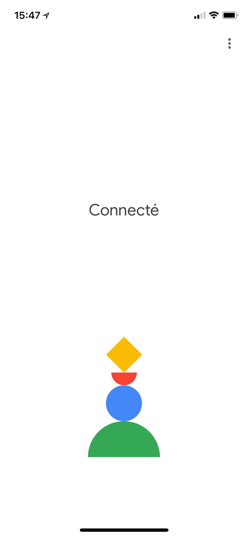 Google Home Interface