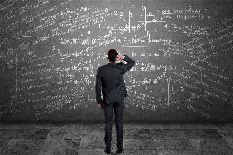 Algorithme calcul mathématiques homme