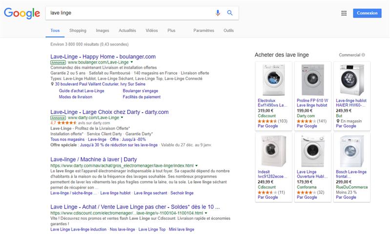 Google Shopping Kelkoo