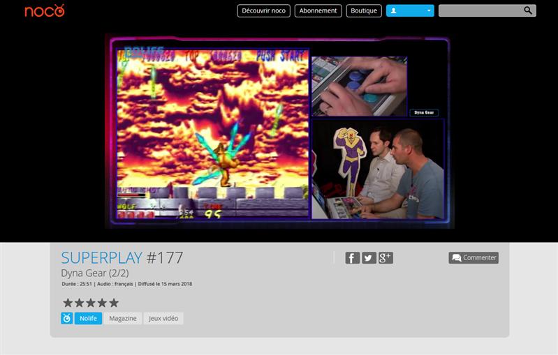 Noco Superplay 177 Nolife