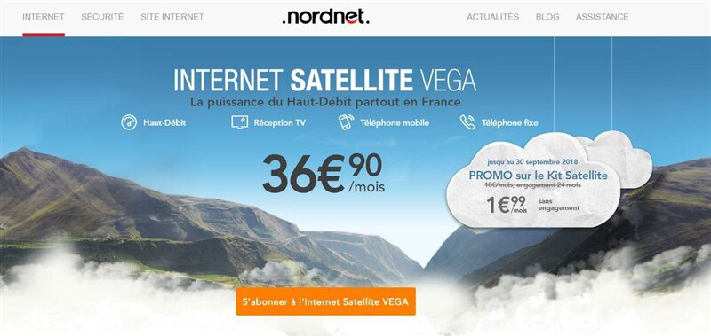 Satellite Nordnet