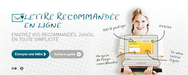 Lettre recommandée en ligne