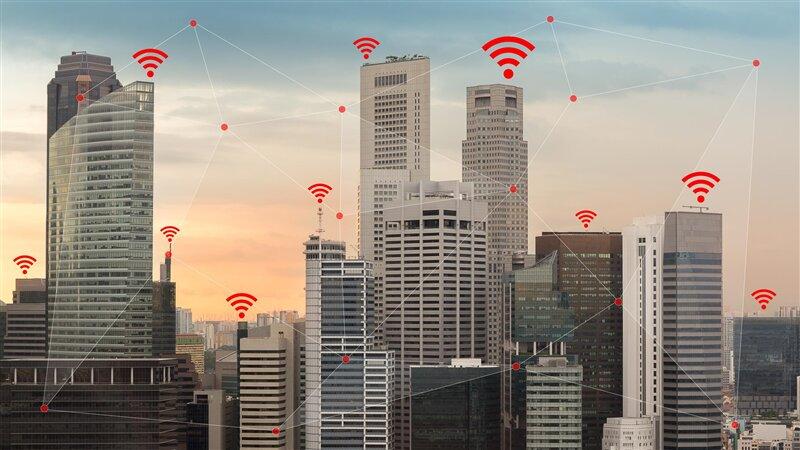 Wi-Fi géolocalisation bâtiment