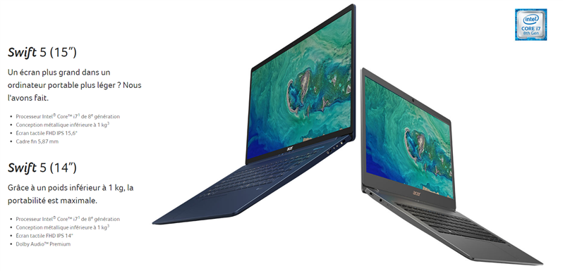 Acer Swift 5 IFA 2018