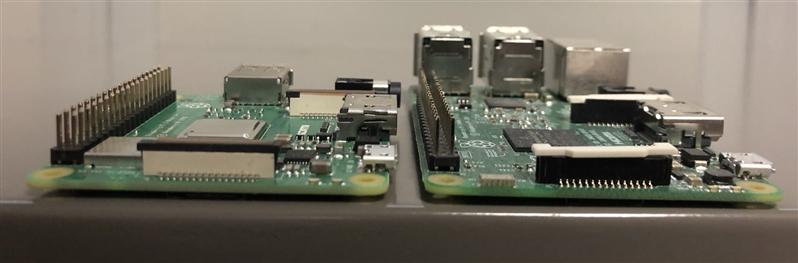 Raspberry Pi 3 A+ Épaisseur