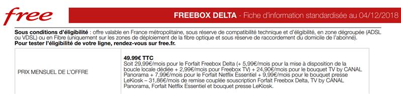 freebox delta 4 décembre