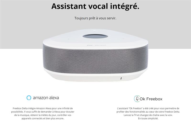 Freebox Delta Alexa