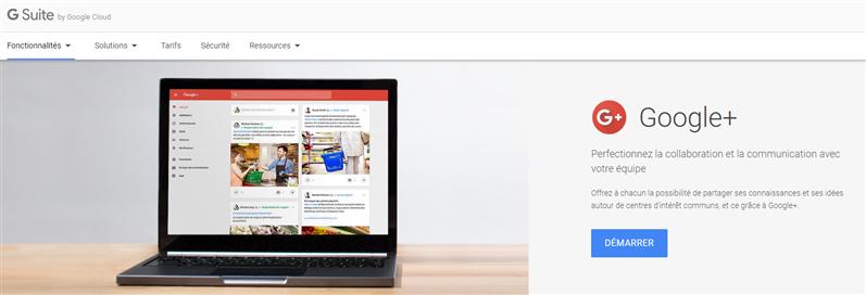 G Suite Google+