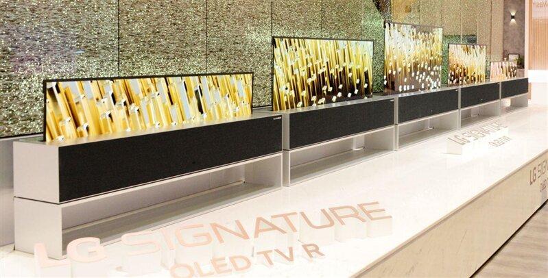 LG Signature OLED TV R (65R9)