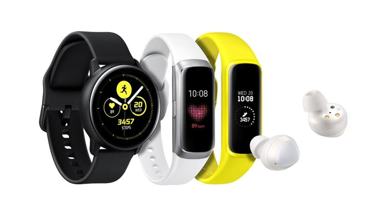 Samsung Galaxy Fit Active Watch Ear Buds