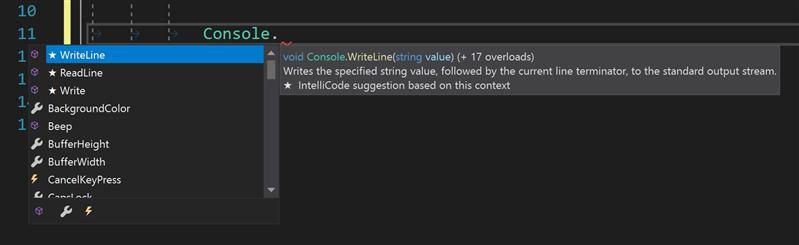 Microsoft Build IntelliCode