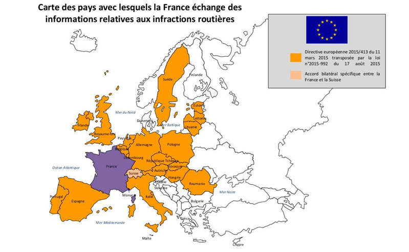 carte échange informations