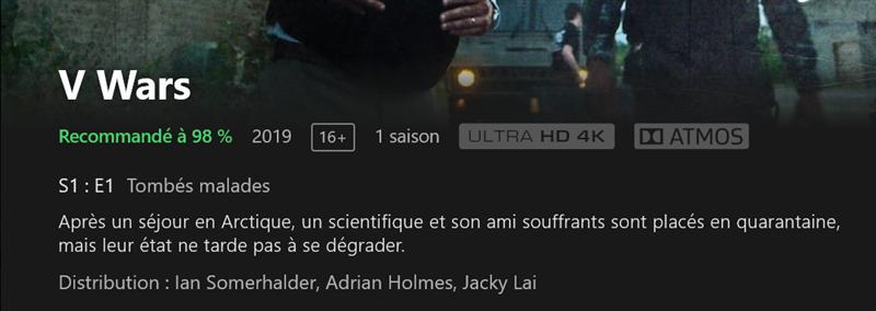 Netflix 4K Ultra HD Atmos