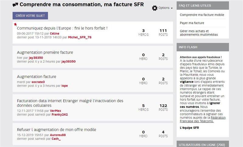 Forum SFR