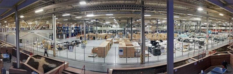 Visite usine renouvellement technologique Erskine