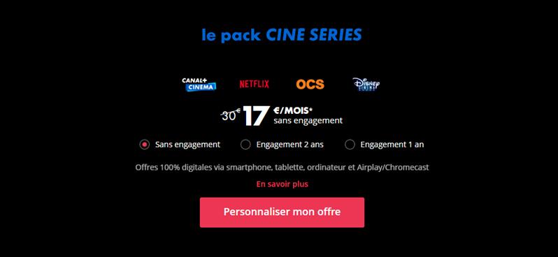 Canal+ Ciné Séries Tarif 2020