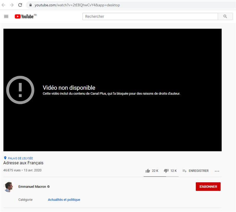 elysée copyright madness