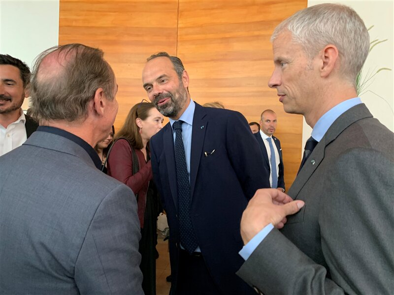 Franck Riester Edouard Philippe