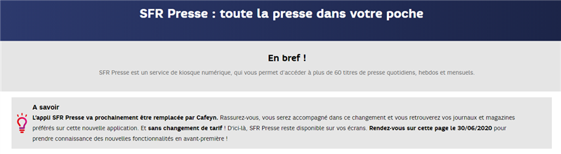 SFR Presse