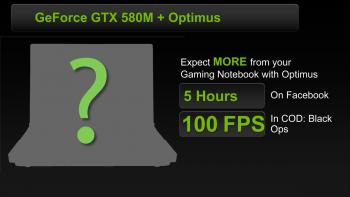 Optimus GeForce GTX 580M