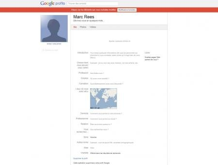 google g+ google+ invitation CGU confidentialité