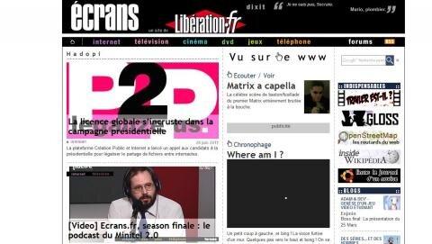 ecrans.fr liberation extinction