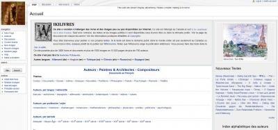wikilivres domain public livres gratuits