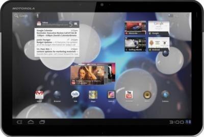 Motorola Xoom Android 3