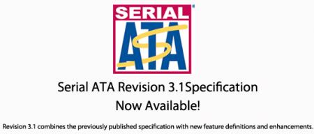 Serial ATA 3.1 SSD TRIM USM