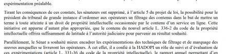 rapport franck riester hadopi filtrage