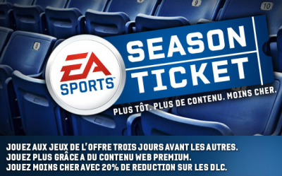 Electronic Arts EA Sports season ticket