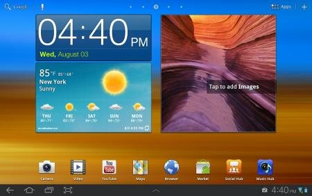galaxy tab touchwiz