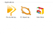 Applications Chrome PC INpact Prix du Net