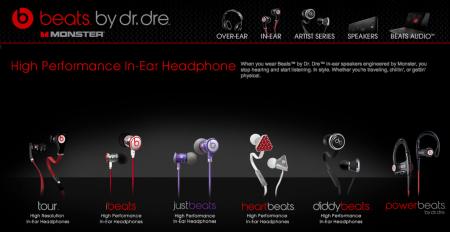 Beats ecouteurs casques