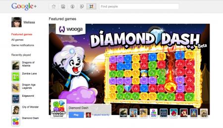 Jeux Google+