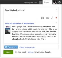 Google Books G+