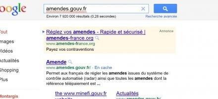 amendes-france.org amendes.gouv.fr PV