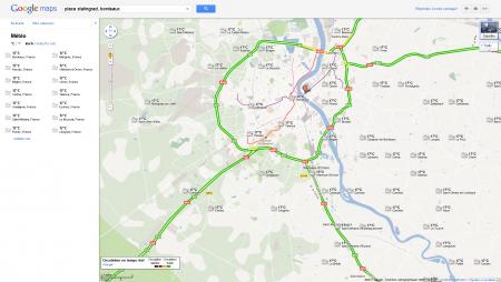 Google Maps Mappy Météo