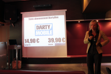 Conférence presse Darty Box et Mobile