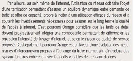 orange tarif détail segmentation